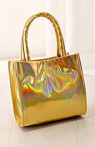 Fashion Bag, Borsa a spalla donna, Oro (oro), Oro (oro)
