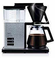 Melitta aroma Signature 100702de Luxe Coffee Filter Machine–Switch/Stainless Steel