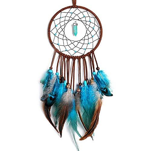 KANKOO Türkis Perlen Traumfänger Traumfängernetz Circular Dream Catcher Traumfänger Für Weihnachten Hochzeit Schlafzimmer Dekoration Wohnkultur Handgemachte