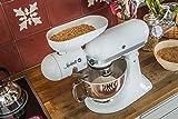 Mockmill Getreidemühlen Vorsatz für KitchenAid mit Keramik / Korund Mahlwerk weiss - 3