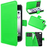 ebestStar - Compatible Coque iPhone 4, 4S Apple Etui PU Cuir Housse Portefeuille...