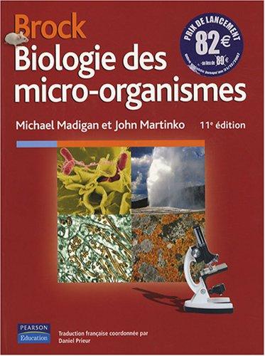 Brock, Biologie des micro-organismes