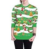 TOPKEAL Hoodie Pullover Damen Herbst Winter Kapuzenpullover Fröhliche Weihnachten O Neck Sweatshirt Winterpullover Jacke Mantel Tops Mode 2018