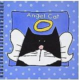 3dRose db_36666_1 Angel Tuxedo Cat Cute ...