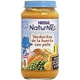 Nestlé - Naturnes Verduritas De La Huerta Con Pollo A Partir De 6 Meses 250 gr - Pack de 6 (Total 1500 grams)