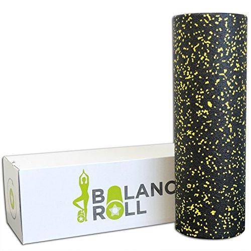 Balance Roll Original Faszienrolle Extra Lang (Härtegrad Weich) - Softe XL Faszien Rolle zur Selbstmassage inkl. Anleitung mit Übungsbeispielen - Made in Germany