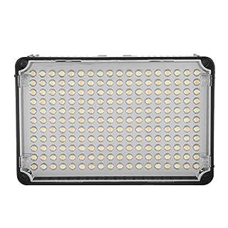 Aputure AL-CRI H198 95 neue 198 LEDs Camcorder Leuchte Beleuchtung-Mit Tragetasche für Canon Nikon Sony DSLR Kamera und Camcorder mit -ajustable die Helligkeit diffusion Filter weiß und Orange