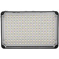 Aputure-H198 CRI 95 AL nuevo 198-Iluminación LED-Lámpara portátil con bolsa de transporte para cámaras réflex Canon, Nikon y Sony, cámara y videocámara-ajustable la luminosidad con filtro de difusión, color blanco y naranja