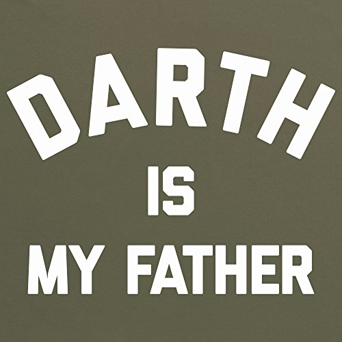 Darth Is My Father T-Shirt, Damen Olivgrn