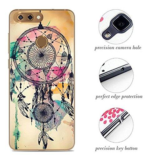 Venga amigos Hülle für ZTE Blade V9 Vita Handyhülle Silikon für ZTE Blade V9 Vita Schutzhülle TPU Case Backcover Bumper Slim Cover
