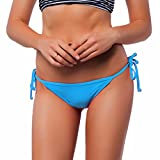 - 51b0 2B2cfqTL - Damen Unifarben Brazilian Style V-Cheeky Bikinihose