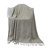 softan Knitted Throw Blanket for Sofa and Bed, Soft Cozy Acrylic with Light Weight for All Seasons,50x60 inches