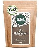 PSYLLIUM (250g, Bio) // di qualità superiore con il 99% di purezza - Sacchetti richiudibili - senza lattosio e glutine - Imbottigliato in Germania (DE-ÖKO-005)