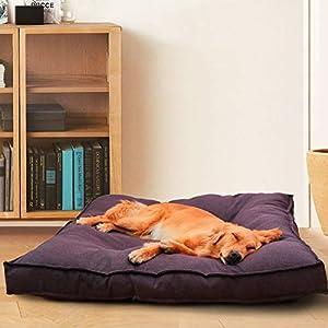 YUNVJIG Hundebett Oxfordbezug Orthopädische Memory Foam Mat Kissenmatratze Für Hunde Katzen Und Andere Kleine Und Große Haustiere,XL