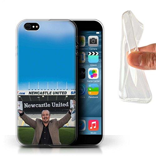 Officiel Newcastle United FC Coque / Etui Gel TPU pour Apple iPhone 6S+/Plus / Pack 8pcs Design / NUFC Rafa Benítez Collection Bienvenue