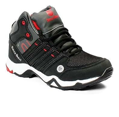 Bacca Bucci Men's Grey PU Sports Shoes - 6 UK