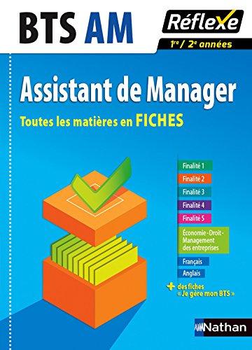 Toutes les matières en FICHES Assistant de manager - BTS AM (09)