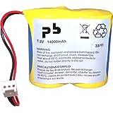 Microbatt - Pile alarme BATLI02 MB 7.2V 14Ah - Unité(s)