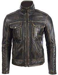 Amazon.it: giacca pelle uomo 2XL Uomo: Abbigliamento