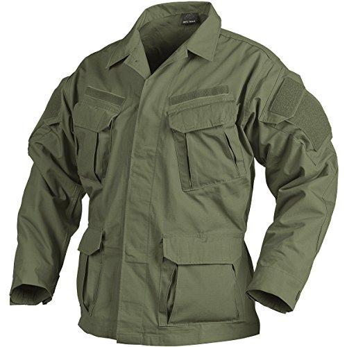 Helikon SFU NEXT Shirt PolyBaumwolle Ripstop Oliv Grün Größe L - Smock Taille Shirt
