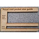 ROYAL MAIL SIZE GUIDE POST OFFICE LARGE LETTER TEMPLATE BRAND NEW