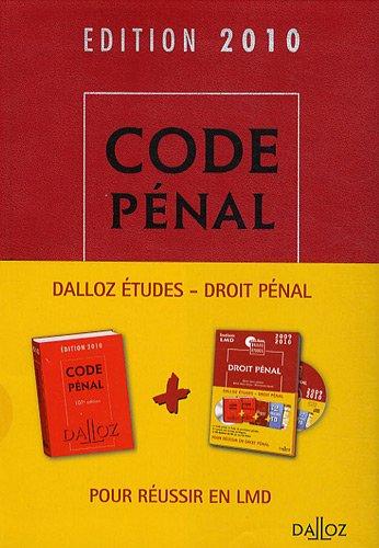 Code pénal 2009-2010 (1Cédérom)