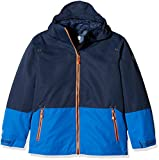 McKINLEY Kinder Doppel-Jacke Liam 3In1, Navy Blue Dark, 140