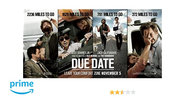 Buy Due Date DVD Blu Ray Online At Best Prices