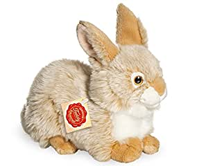 Hermann Teddy Collection - Peluche - 93773 - Lapin beige assis - 25 cm