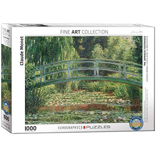 "Eurographics ""Claude Monet La Pasarela Japonesa Puzzle (1000 Piezas"