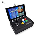 "Yunt Arcade Video Game Console, Portable 10 ""Screen Pandora's Box 3D 2177 in 1 Arcade Game Jamma Videogiochi HDMI Retro"