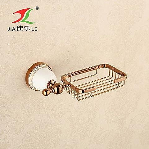 Bagno sapone antico-continentale dual soap box cremagliere bagno web SOAP in lega di zinco bagno Acc. - Acc Basket
