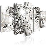 murando - Bilder 200x100 cm Vlies Leinwandbild 5 TLG Kunstdruck modern Wandbilder XXL Wanddekoration Design Wand Bild - Abstrakt a-A-0051-b-m