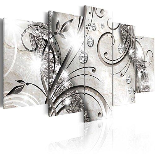 murando - Bilder 100x50 cm Vlies Leinwandbild 5 TLG Kunstdruck modern Wandbilder XXL Wanddekoration Design Wand Bild - Abstrakt a-A-0051-b-m