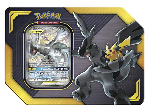 Unbekannt Pokemon - 1x Pikachu & Zekrom GX - Tag Team TIN Box - Deutsch