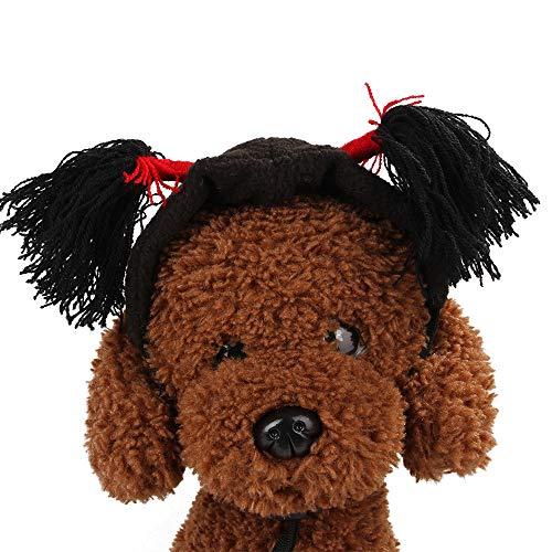 Kostüm Mit Hunde Stirnband - RENS Nettes Haustier-Stirnband Mit Bortenform, Lustiger Halloween-Kostüm-Hut, Partei-Cosplay-Stütze Für Katzen-Hund