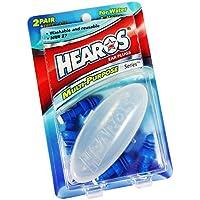 Hearos Multi-Purpose Reusable Silicone Ear Plugs Includes Free Case, 2
