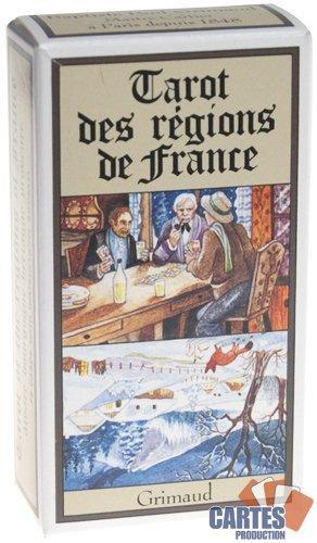 Jeu de 78 cartes : Tarot des régions de France