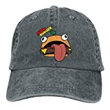 LNYACHI Durr Burger Denim Hat Adjustable Men's Vintage Baseball Caps