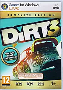 buy comprint dirt 3 complete edt pc online at low prices in india comprint video games. Black Bedroom Furniture Sets. Home Design Ideas