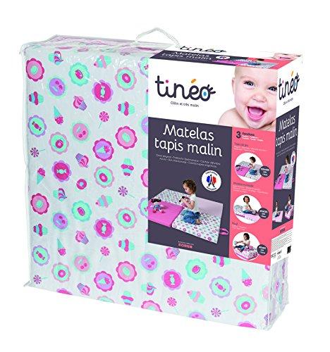 Tinéo - 603920 - Matelas Tapis Malin - Ecru - Tea Time