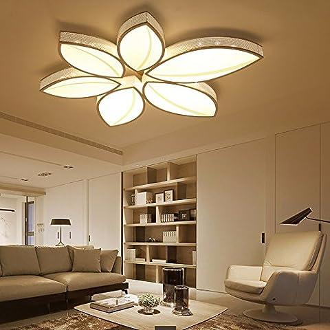 LoveScc Personnalisez votre maison l'éclairage créatif Garçons Filles Prix et lampes d'éclairage minimaliste Ledmodern Accueil Lampes Luminaires chaud & diamètre68cm gradateur 3 couleurs