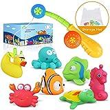 Juguetes de baño Lehoo Castle para niños de 1 año, juguetes de...