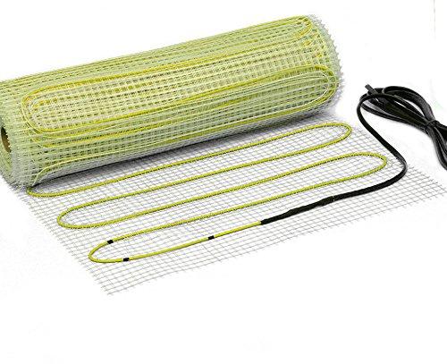 Elektrische Fußbodenheizung Zweiader Premium Heizmatte 160 W/m² (2.0 m² - 0.5 m x 4 m)