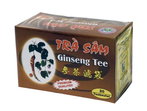 Vinh Tien Ginseng Tee, 10er Pack (10 x 1 Packung á 20 Beutel á 2g)