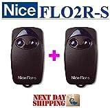 2x Nice flo2r-s Fernbedienung Sender 433,92MHz Sender