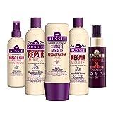 AUSSIE Hair Recovery set con shampoo, balsamo e trattamento profondo