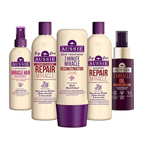 Aussie - Set de recuperación de pelo con champú