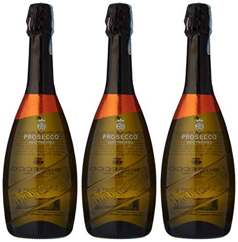 Mionetto Luxury Prosecco DOC Treviso Brut, 75cl (case of 3)