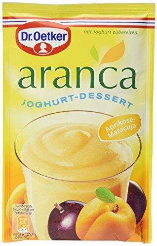 Dr. Oetker Aranca Joghurt-Dessert, 11er Pack (11 x 78 g) - Soft-aprikosen